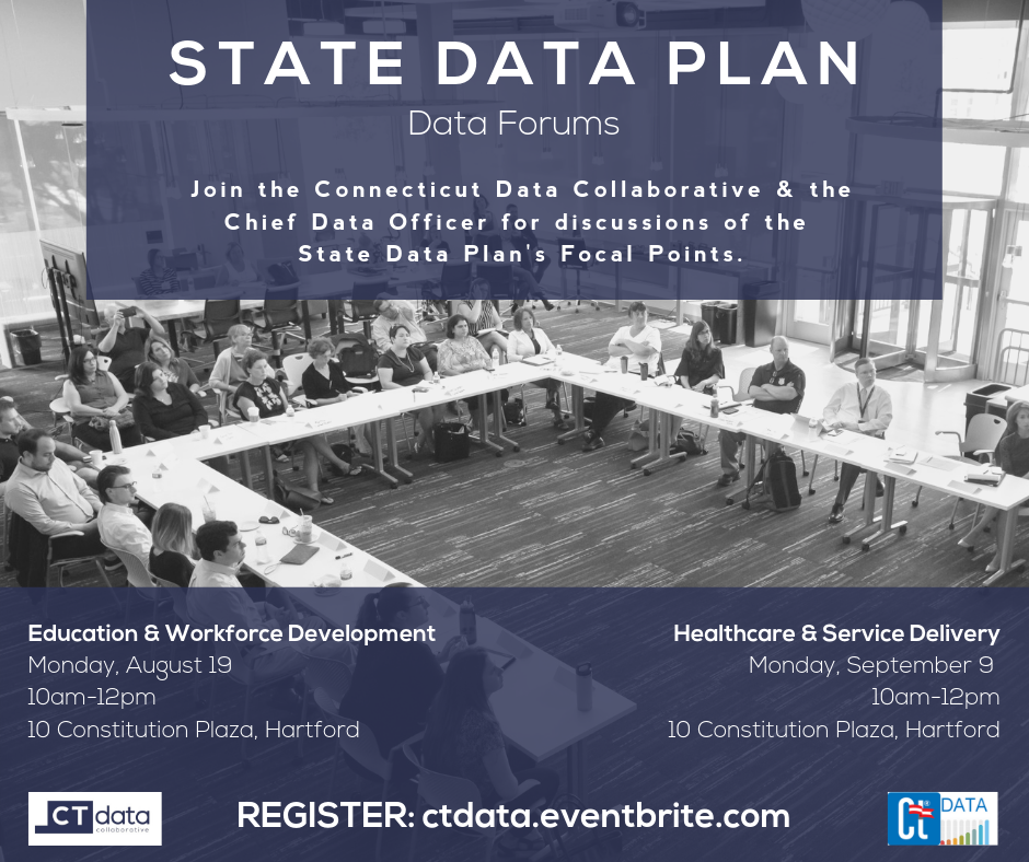 State Data Plan: Education & Workforce Development Data